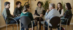 Terapeuta formado alumnos del máster