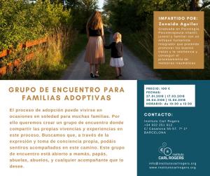 Familias Adoptivas Adopción Encuentro Grupo Taller Zenaida Aguilar Instituto Carl Rogers