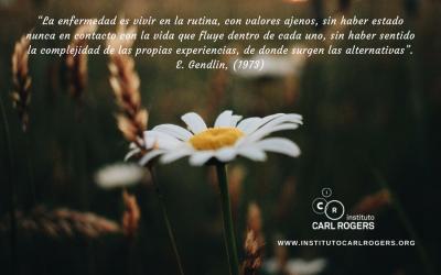 """""""El cuerpo nos ofrece la sabiduría para un cambio emocional y de significado de nuestra experiencia"""""""