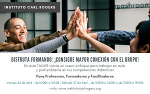 Taller Disfruta formando - Instituto Carl Rogers