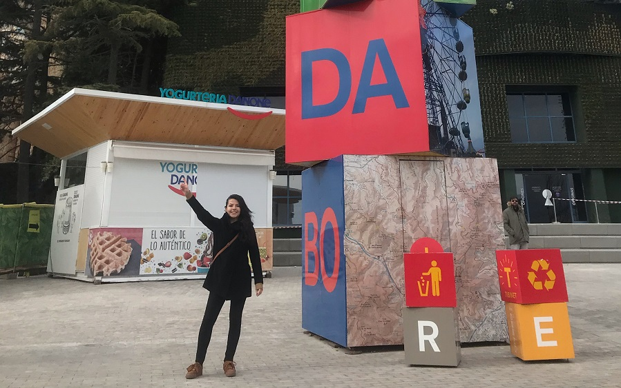 María Fernanda Cruz Llera, alumna del Instituto Carl Rogers