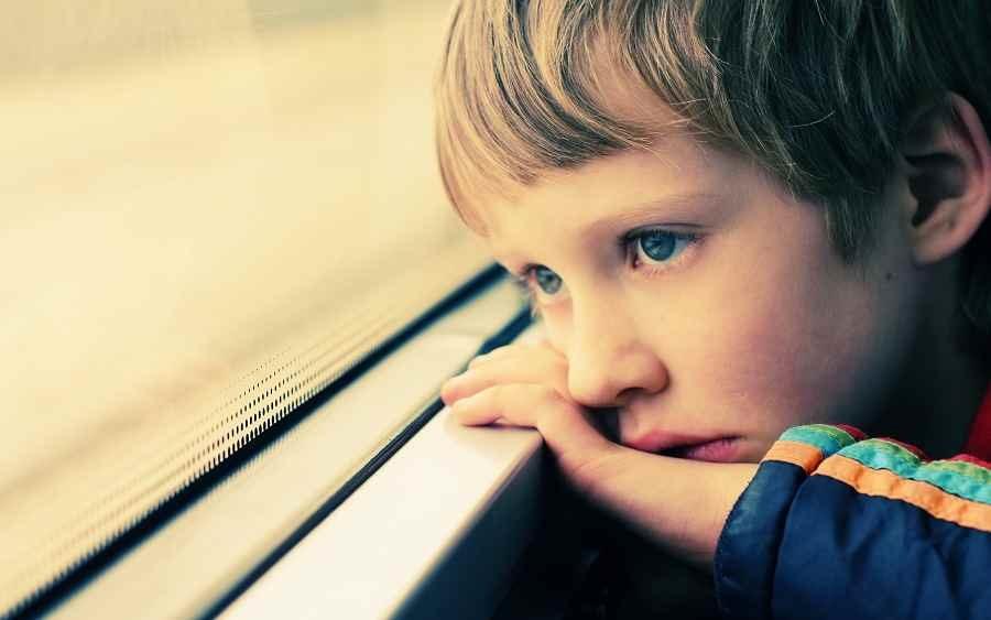 Los problemas de conciliación de los niños de la llave